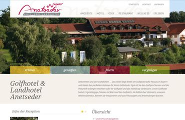 secoso Referenz Landhotel & Golfhotel Anetseder