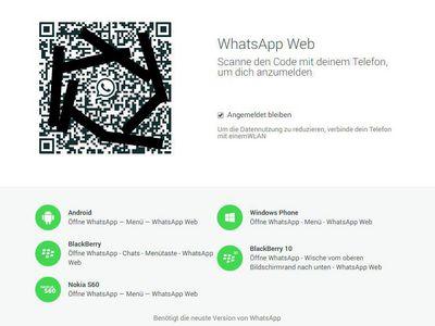 Bild: WhatsApp Web - Anleitung