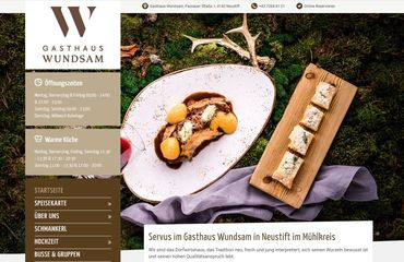 secoso Julia Falkner Referenzen - Gasthaus Wundsam