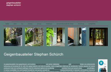 SeCoSo Julia Falkner Referenzen - Geigenbauatelier Stephan Schürch